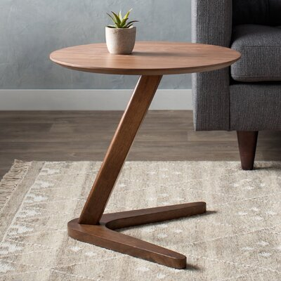 Bluestone End Table Color: Walnut