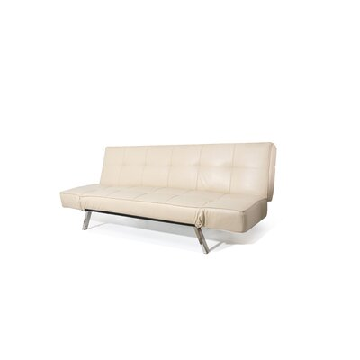 Abram Convertible Sofa Upholstery: Beige