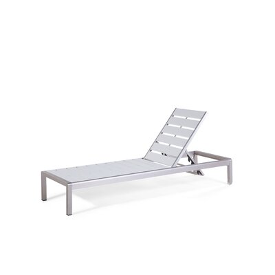 Robbins Chaise Lounge Finish: White