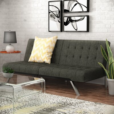 Littrell Convertible Sofa Upholstery: Gray