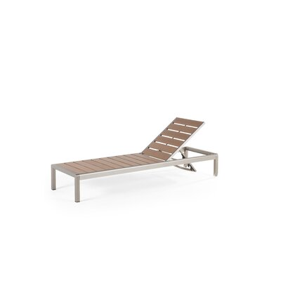 Robbins Chaise Lounge Finish: Brown