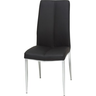 Pinank Side Chair (Set of 2) Upholstery: Black