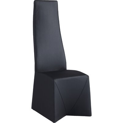 Suyash Side Chair (Set of 2) Finish: Black