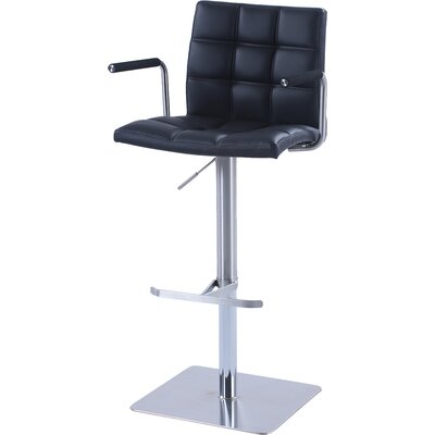 Toia Adjustable Height Swivel Bar Stool