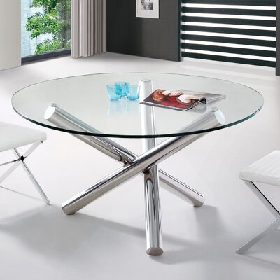 Clower Modern Round Dining Table