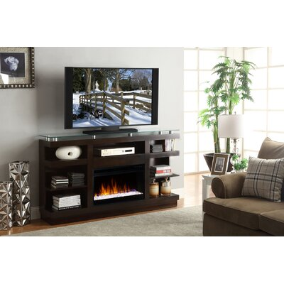 Emanuel 65 TV Stand with Fireplace