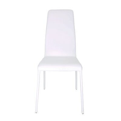 Hope Side Chair (Set of 4) Upholstery: White