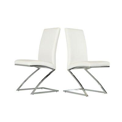 Calmar Side Chair Color: White