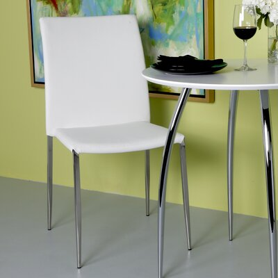 Parlex Dining Chair Upholstery Color: White