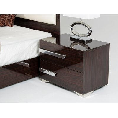 Sommerset 2 Drawer Nightstand Orientation: Right Facing