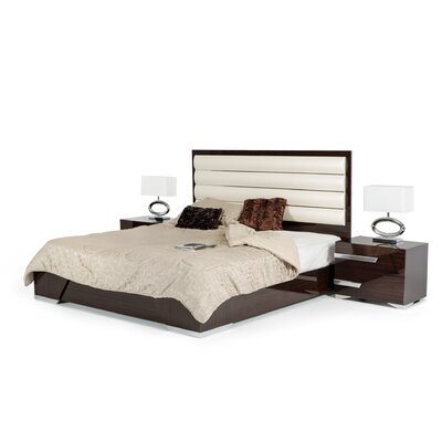 Sommerset Upholstered Panel Bed Size: Eastern King