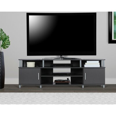 Elian TV Stand Color: Gray, Size: 63 W