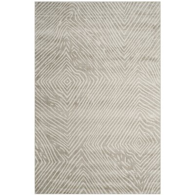 Moorhouse Hand-Woven Light Gray Area Rug Rug Size: Rectangle 6 x 9