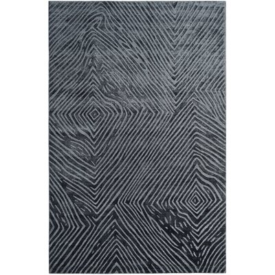 Moorhouse Hand-Woven Blue/Gray Area Rug Rug Size: Rectangle 6 x 9