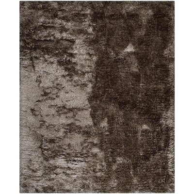Anna Latte Shag Rug Rug Size: Rectangle 8 x 10
