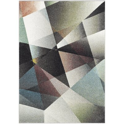 Craigwood Gray/Brown Area Rug Rug Size: Rectangle 53 x 76