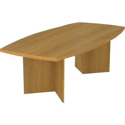 Mariana Boat shaped 30.4H x 47.5W x 96L Conference Table Finish: Cappuccino Cherry