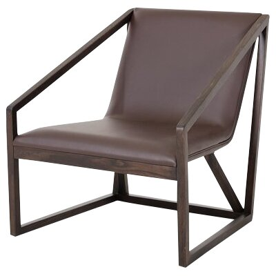 Alsatia Lounge Chair Finish: Brown