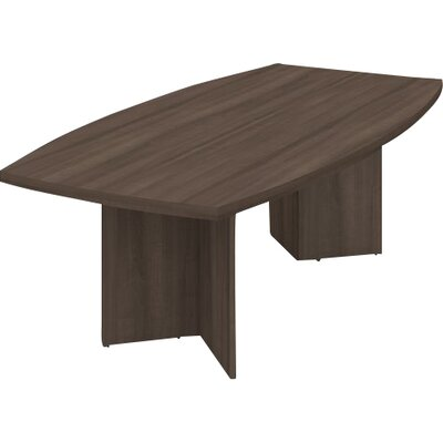 Mariana Boat shaped 30.4H x 47.5W x 96L Conference Table Finish: Antigua