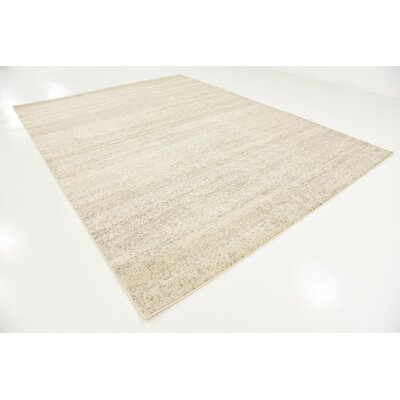Elaina Beige Area Rug Rug Size: Rectangle 9 x 12
