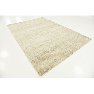 Elaina Beige Area Rug Rug Size: Rectangle 7 x 10