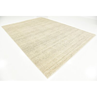 Elaina Beige Area Rug Rug Size: Rectangle 8 x 11