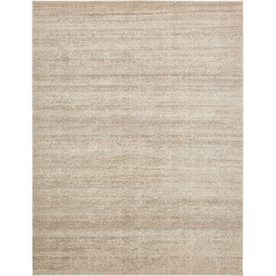 Elaina Beige Area Rug Rug Size: Rectangle 33 x 53