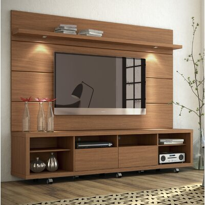 Julius Entertainment Center with LED Lights Width of TV Stand: 85.43