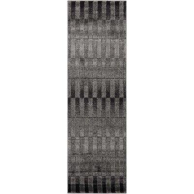 Alcanza Smoke Area Rug Rug Size: Runner 22 x 73