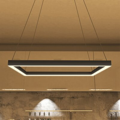 Pax 1-Light LED Geometric Pendant