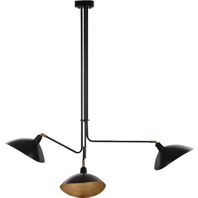 Utica Metal 3-Light Design Pendant