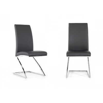 Calmar Side Chair Color: Gray