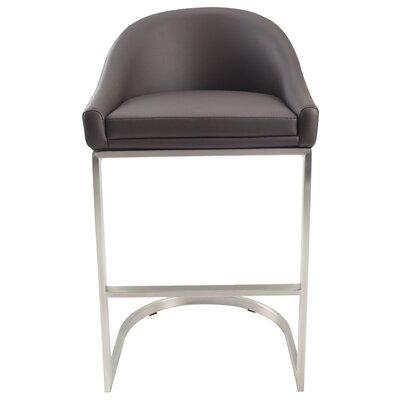 26 Bar Stool Upholstery: Brown