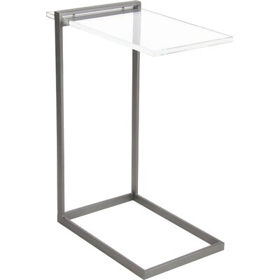 Gilberton End Table Color: Gray
