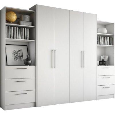 Lower Weston 3 Drawer Storage Unit Color: White