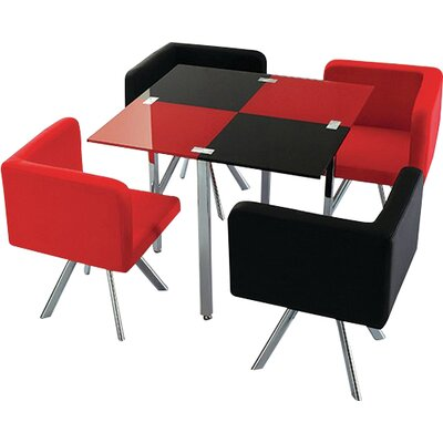 Longwell 5 Piece Dining Set