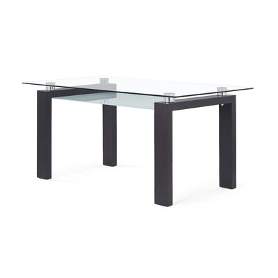 Gillespie Dining Table Finish: Dark Wanut