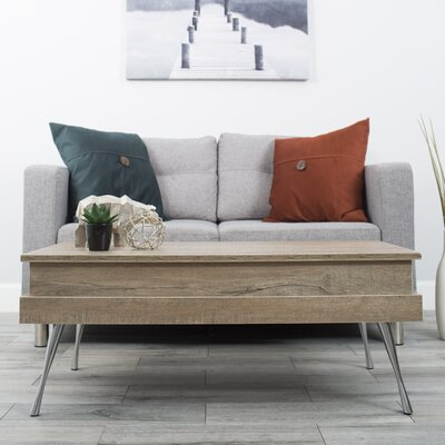 Cornelia Lift Top Coffee Table Color: Heathered Oak