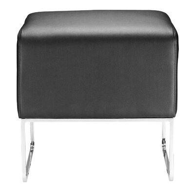 Esparza Ottoman Upholstery: Black