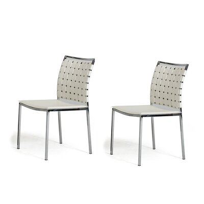 Belafonte Dining Chair Upholstery: White