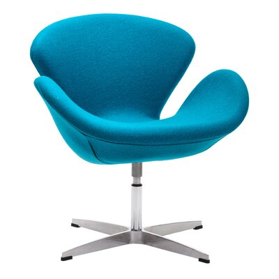 Lindenwold Occasional Armchair Upholstery: Island Blue