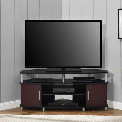 Elian 48 TV Stand Color: Black/Cherry