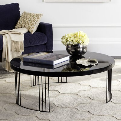 Ambrosios Coffee Table Color: Black