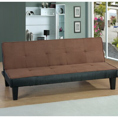 Chavez Convertible Sleeper Sofa Upholstery: Chocolate