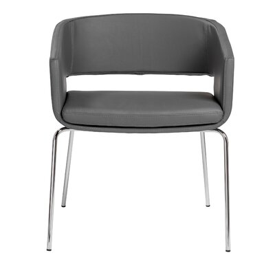Emily Arm Chair Finish: Gray