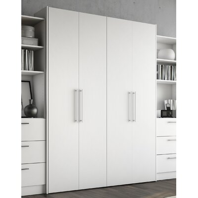 Lower Weston Murphy Bed Size: Queen, Color: Off White
