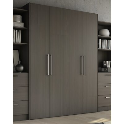 Lower Weston Murphy Bed Size: Full, Color: Charcoal