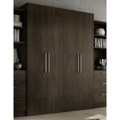 Lower Weston Murphy Bed Size: Queen, Color: Espresso