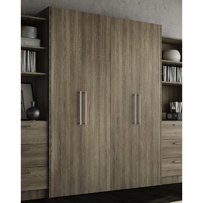 Lower Weston Murphy Bed Size: Full, Color: Rustic Cinnamon