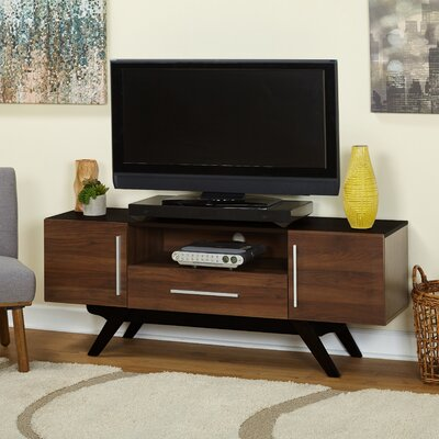 Barclay 59 TV Stand Color: Black